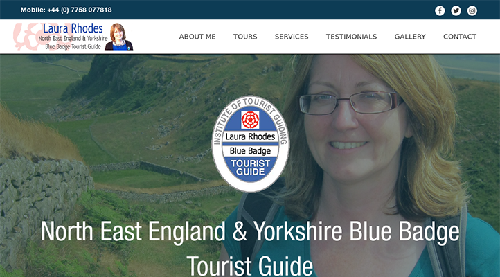 Laura Rhodes Tourist Guide